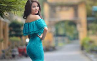 Сонник голубое платье на женщине