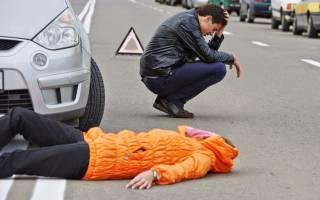 Сбить человека во сне на машине