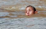 Сон ребенок упал в воду