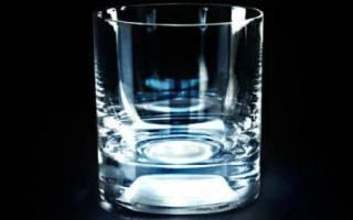 К чему снится стакан с водой