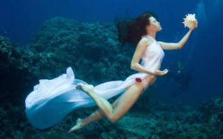 К чему снится быть под водой