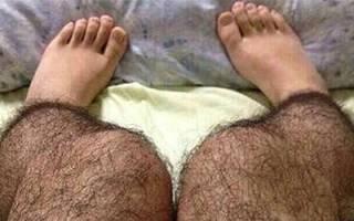 Сон волосы на ногах у женщины