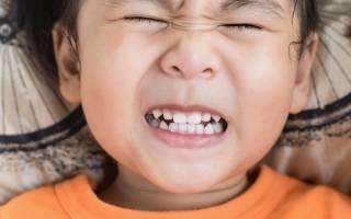 Ребенок 4 года скрипит зубами во сне