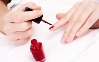 К чему снится красить ногти на руках