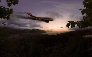 Сонник падающий самолет видеть
