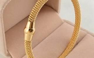 Видеть во сне золотой браслет