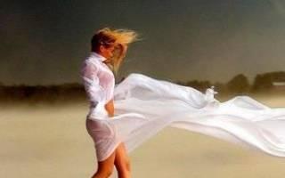 Сон девушка в белом