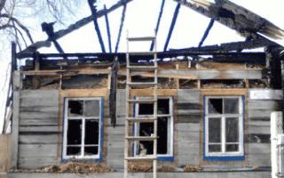 К чему снится обгоревший дом