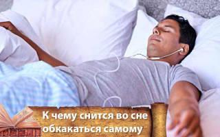 К чему снится видеть человека обосраного