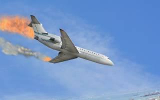 Падение самолета во сне что значит