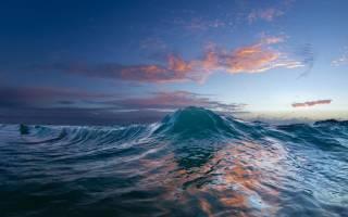 К чему снится океан с большими волнами