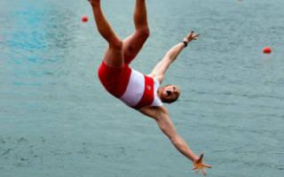 Падать в воду с высоты во сне