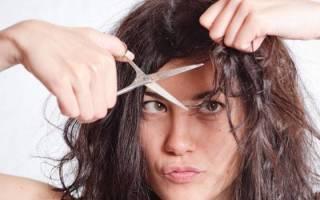 Сонник стричь волосы самой себе