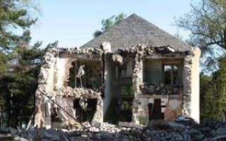 Сон разрушение дома