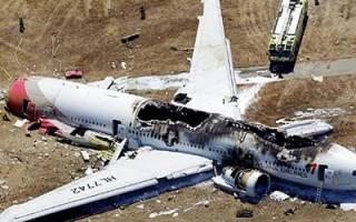 К чему снится упавший самолет возле дома