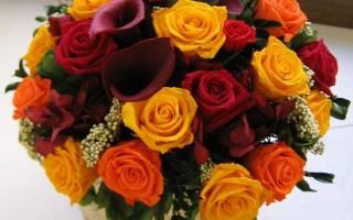 Сонник букеты цветов много
